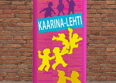 Kaarina-lehti, roll-up