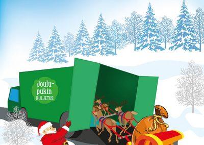AKT-lehti, joululehden kuvitus