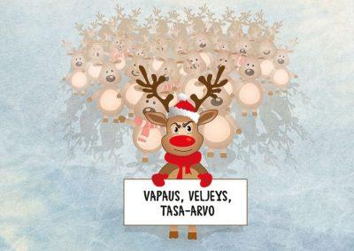 AKT-lehti, kuvituskuva lehden joulunumeroon