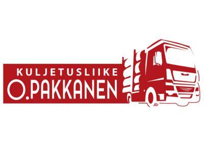 Kuljetusliike O.Pakkanen logo