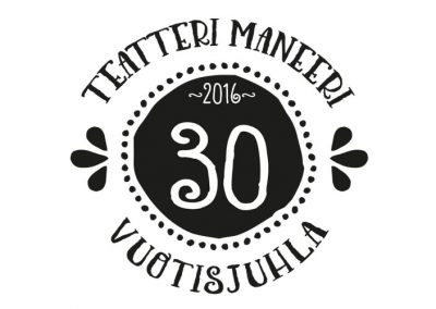 teatteri Maneerin 30-v. logo