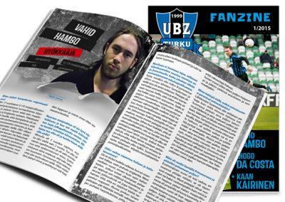Ultraboyz fanzine 2015