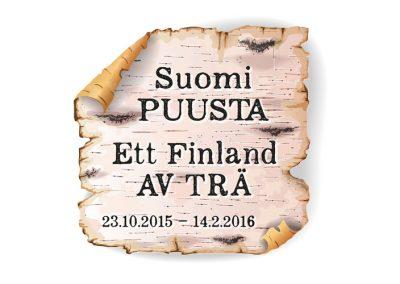 Pohjamaan museo, Suomi Puusta -näyttelyn logo