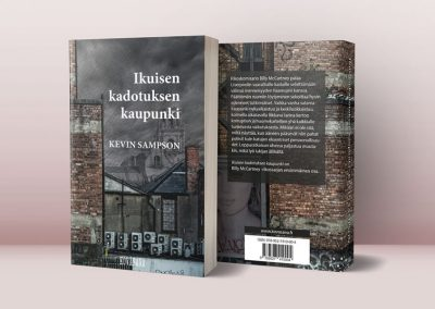Kevin Sampson, kirjan taitto ja kannet, Kovasana Kustannus